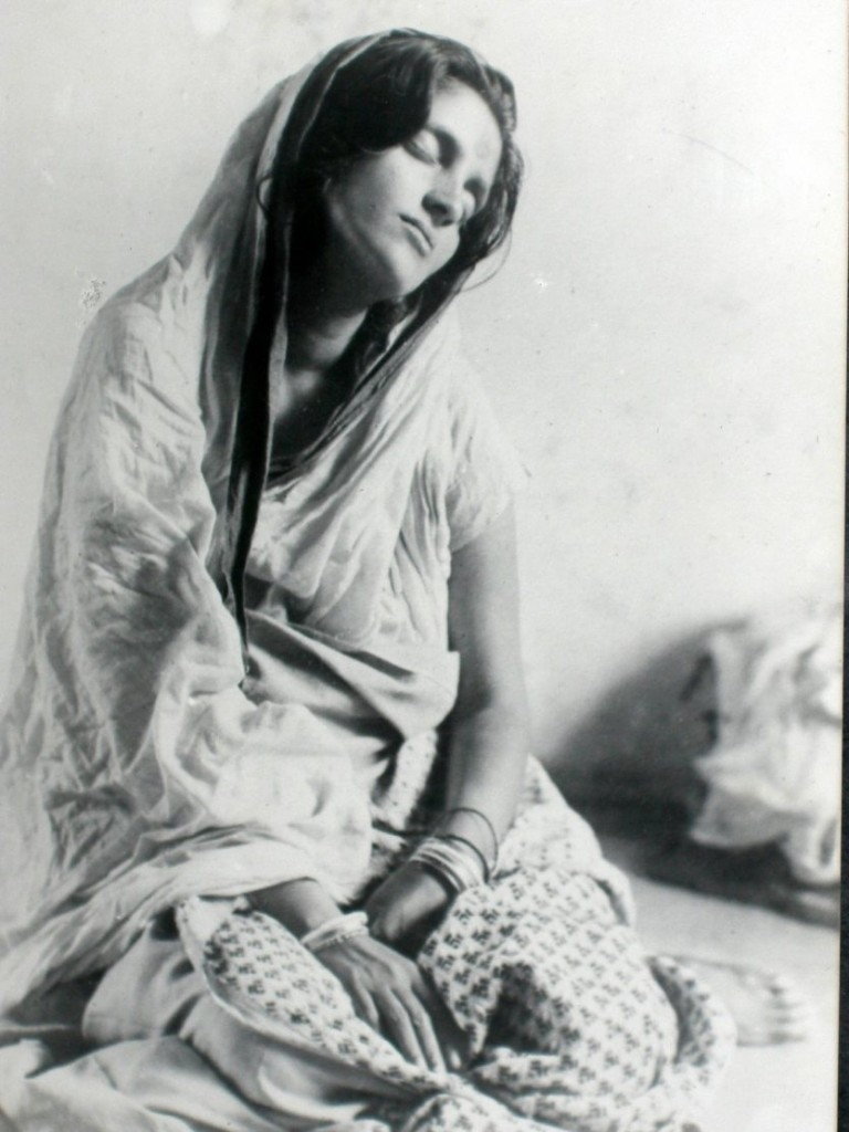 Anandamayi Ma in Samadhi